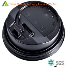 Thermoforming plastic coffee cup BOPS lid