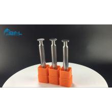 Ferramentas personalizadas do moinho de extremidade / router de corte contínuo do carboneto para o torno
