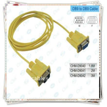 Кабель RS232 высокого качества Кабель DB9 с желтым