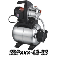 (SDP800-4S-CS) Jardín autocebantes Jet Booster bomba con tanque de acero