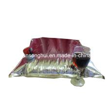 Rotwein-Verpackungs-Beutel im Kasten / Beutel im Kasten / flüssige Verpackungs-Beutel im Kasten