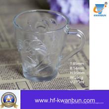Tasse en verre pour bière ou boisson Ustensiles de cuisine Coffee Cup Kb-Jh6013