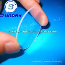 Janela de vidro de sílica fundida (JGS1)