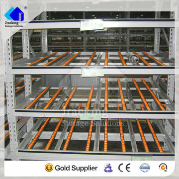 Jracking High quality storage fifo Q235 steel used pallet flow rack systems shelf