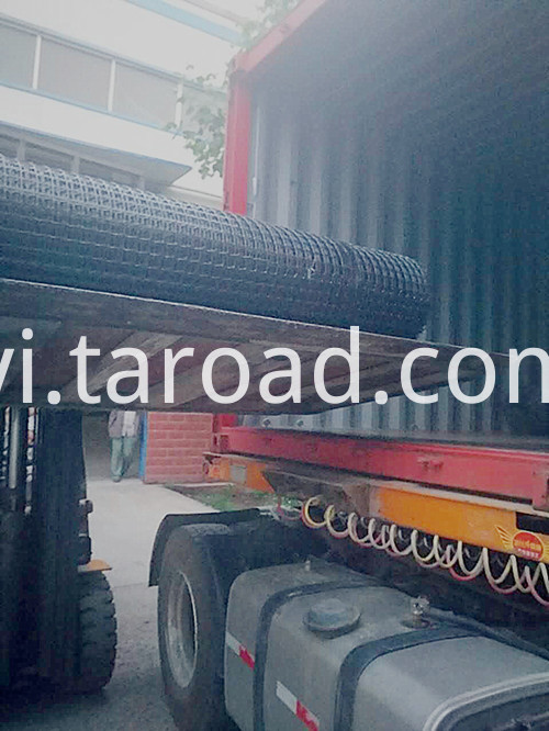 geosynthetic reinforcement pp biaxial geogrid