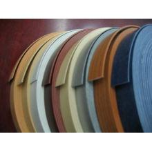Bandas de borde de PVC de color sólido