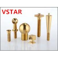 China Pieza de cobre amarillo modificada para requisitos particulares de alta precisión para la maquinaria
