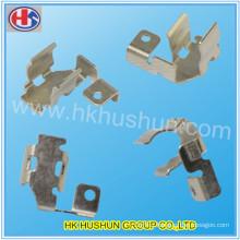 Stamping Metal Shrapnel, Nickel Plated Thin Metal Stamping (HS-BC-0035)