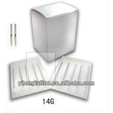 Agulha de perfuração G14 316L inox