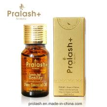 Anti-queda de cabelo pralash + boa qualidade cabelo crescimento óleo essencial cuidados com a pele