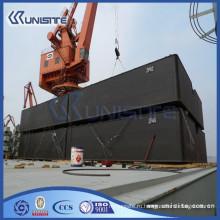 Плавающий понтон, используемый для морского строительства и дноуглубительных работ (USA1-019)