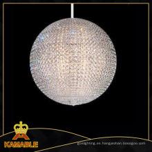 Decoración del proyecto del hotel bola lámpara de cristal (ka130)