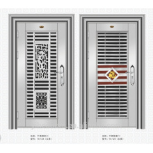 métal double portes extérieur