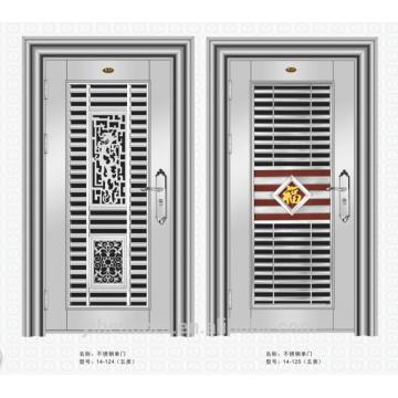 metal double doors exterior