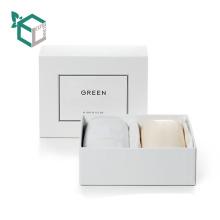 Boîte de papier d'emballage cosmétique fait sur commande de stockage imprimé par coutume