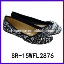2015 кружева верхней фанки плоские туфли женщин плоские туфли летняя обувь