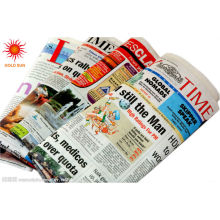 rolo de papel de jornal