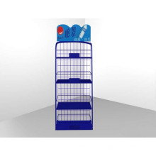 Fábrica de Alta Qualidade Venda Pavimento de metal de metal Mineral Water Rack