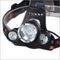 3XT6 LED 8000LM 18650 Wiederaufladbare Ultra Bright 3 T6 LED Scheinwerfer