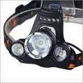 3XT6 LED 8000LM 18650 Rechargeable Ultra Bright 3 T6 LED Headlamp