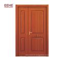 insère le présentoir de porte en bois, dessins de porte principale en bois de teck plat
