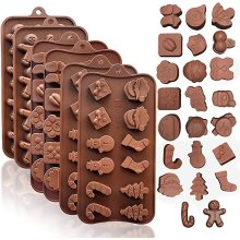 Christmas Silicone Chocolate and Candy Molds