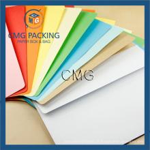 Enveloppe décorative multicolore en papier OEM (CMG-ENV-012)