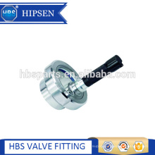 Stainless steel union type sight glass