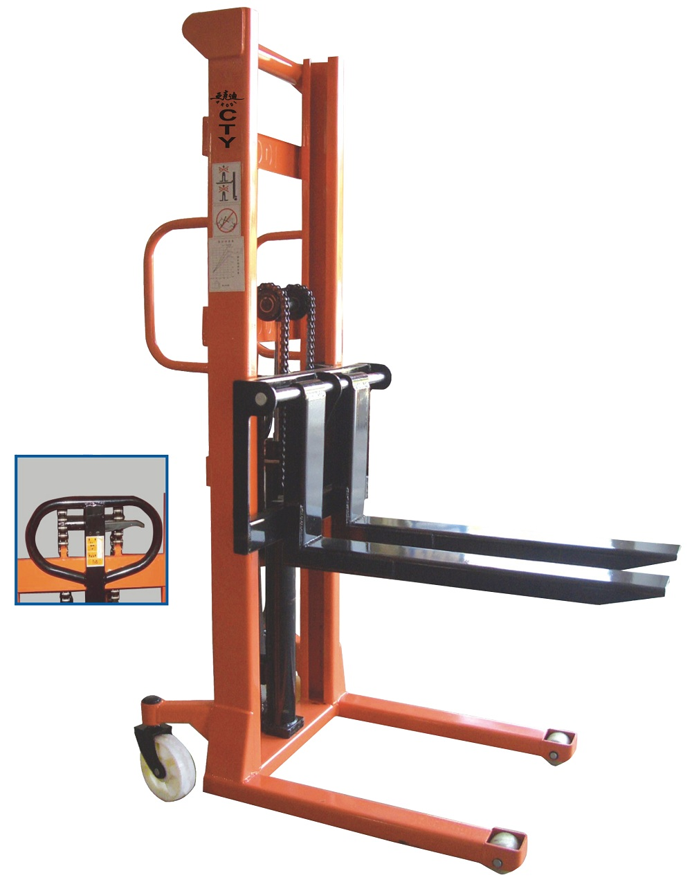 electric reach forklift