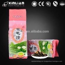Material de la hoja de aluminio y acepte el bolso de té individual de la orden de encargo