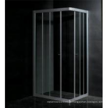 Armação de alumínio de vidro temperado EAGO Chuveiro