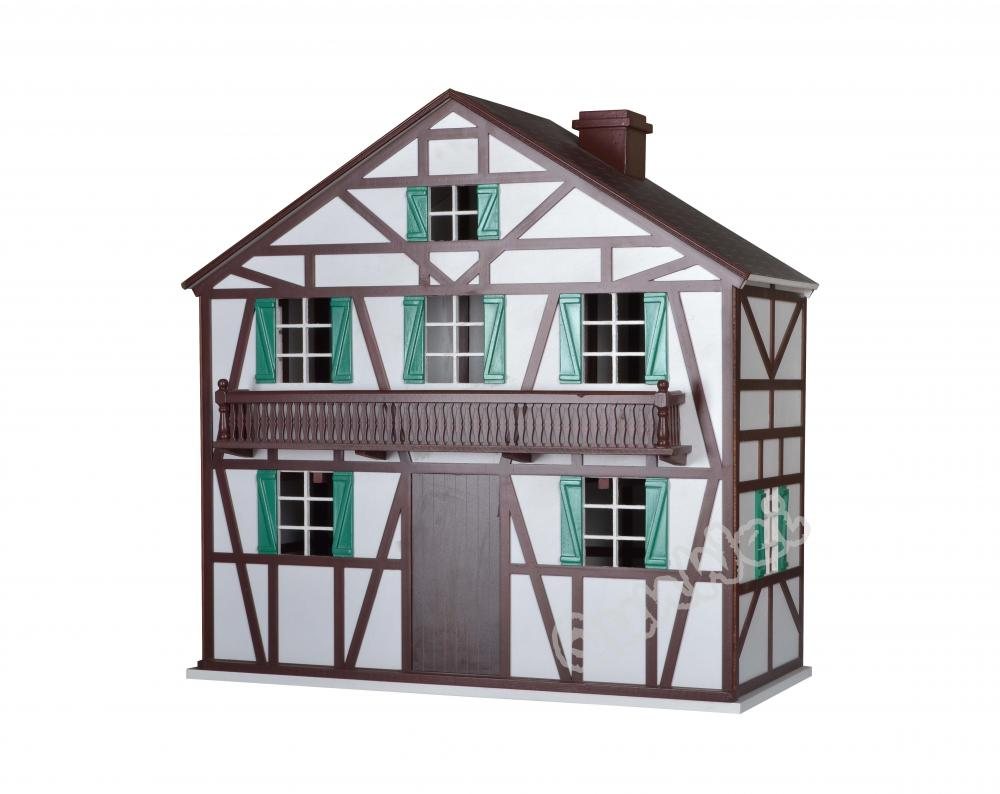 Dollhouse Miniature Building