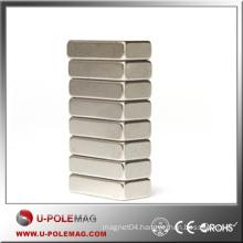 Customized Block Magnet Neodymium/Hot Neodymium Magnet Cube N35/F100X30X30mm Block NdFeB Magnet