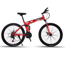 2018 hot sale 26 inch folding mountain bike