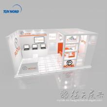 Stand de exhibición de stand de exhibición de cabina de exhibición de venta caliente diseñado en Shanghai, China