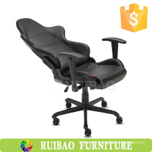 2016China Black Luxury Leather Leisure Gaming Chair Racing Recliner Chair