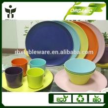 Биоразлагаемые экологически чистые бамбуковые порошки и волокна посуда и столовые приборы