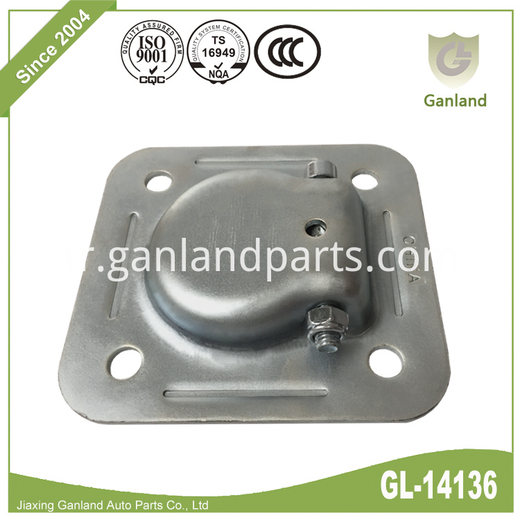 Square Galvanized Steel D Ring GL-14136