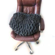 Chunky Merino merino wool blanket queen Pudgy Handmade