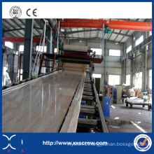 2015 Hot Sale PVC Marble Sheet Extrusion Machine