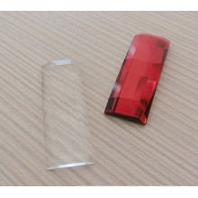 Transparente Flat Back Perlen Steine
