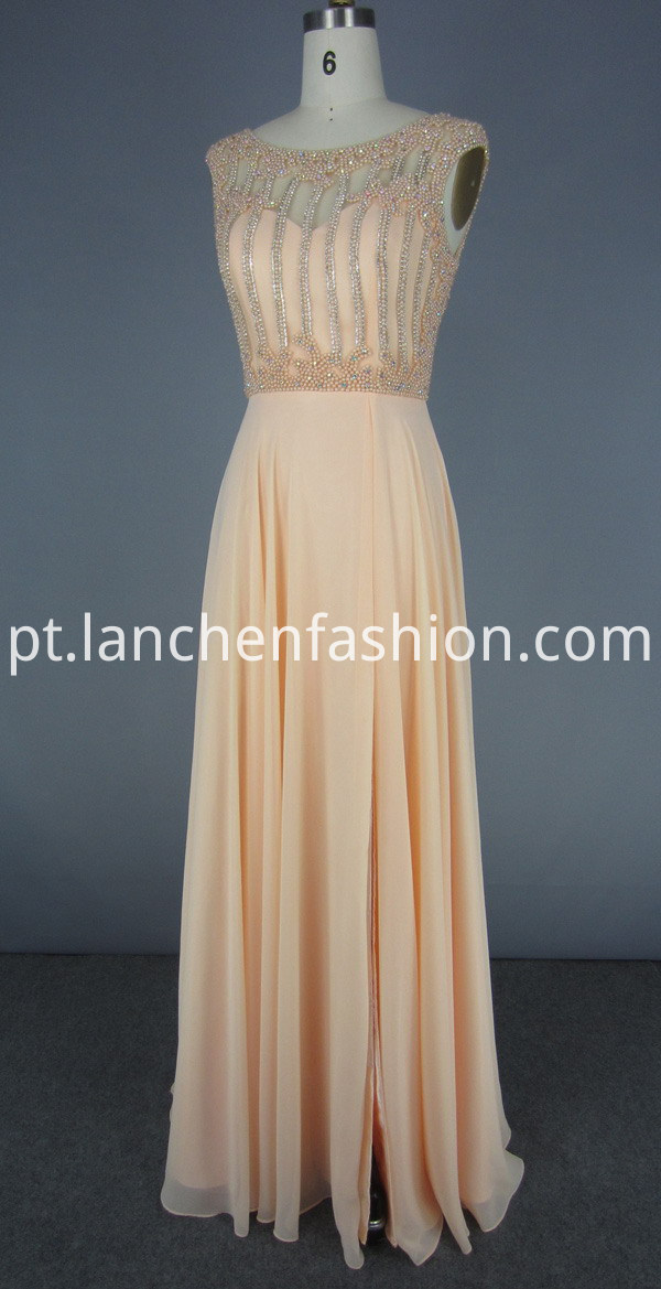 Chiffon Maxi Evening Dress