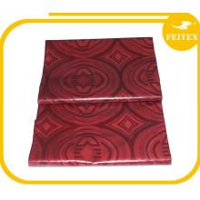 Suministre la ropa africana hecha a mano del bazin de la tela del algodón del brocado de Guinea del alta calidad con el mejor precio