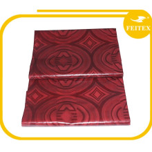 Fournir de haute qualité à la main guinée brocade coton tissu africain bazin vêtements avec le meilleur prix