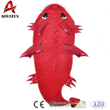 Tierkarikatur-Krokodil-Schlafsack-Meerjungfrau-Schwanz-Decke für Kinder