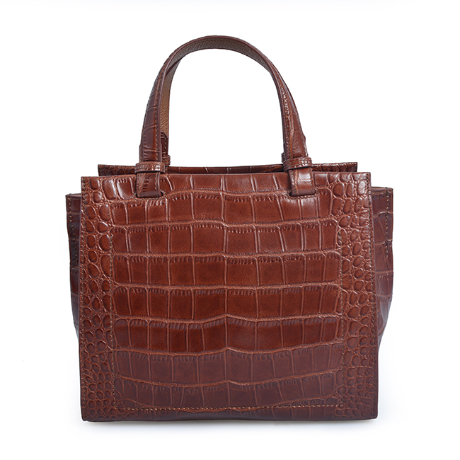Large capacity crocodile grain ladies sexy handbags