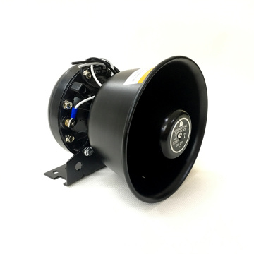 12V Power Sound Police Fire Traffic Alert Siren Alalrm Stainless Steel Horn Speaker 150W