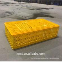 Nuestra fábrica produce el pollo del transporte de la jaula del transporte para llevar la seguridad