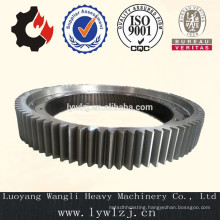 Cast Outer Ring Gear For Cement Kiln