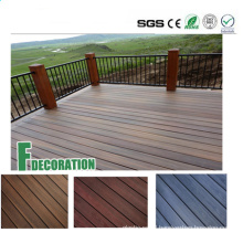 Building Materials WPC Solid Core Composite Decking Boards